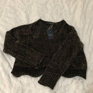 ZARA Olive Knitwear Sweater NWT